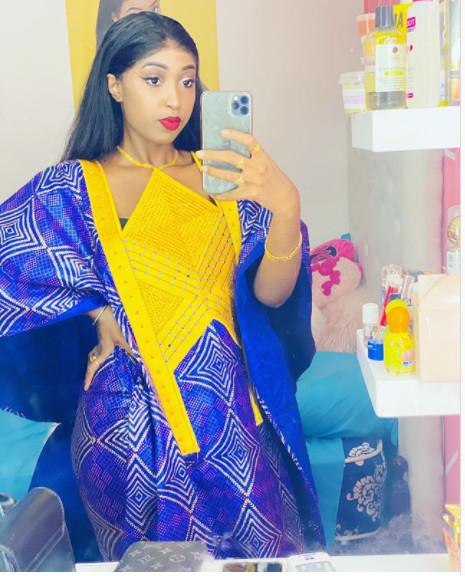 Photos - Admirez la magnifique tenue traditionnelle de l'actrice Tatira Sow !