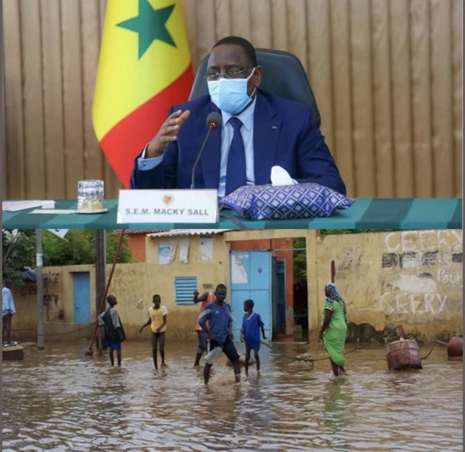 Gestion des inondations: Macky Sall étale sa colère en conseil des ministres