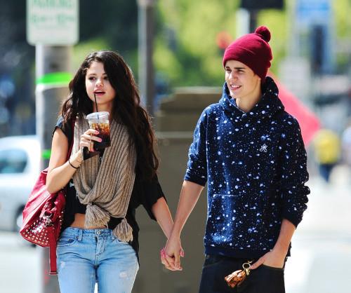 Justin Bieber et Selena Gomez inséparables
