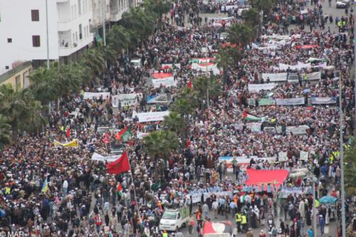 Le Maroc un soutien fidèle au peuple Palestinien