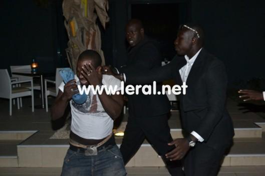 [Photo exclusive] Voulant forcer l'entrée d'une soirée privée sans y être invité, Don Diego se fait tabasser