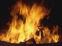 Incendie à Thiaroye