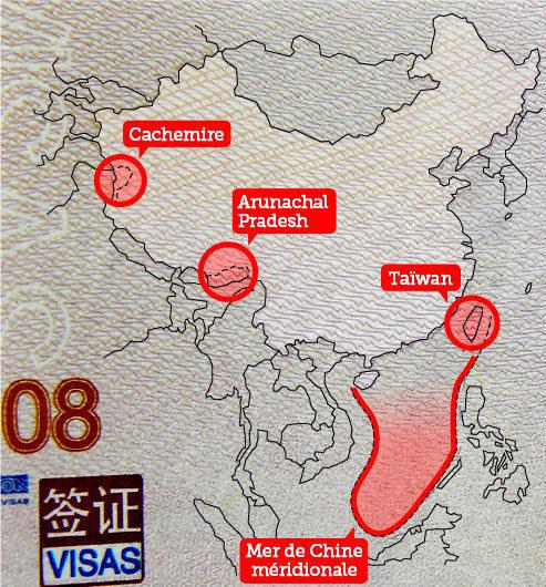 La Chine se voit en trop grand sur ses passeports