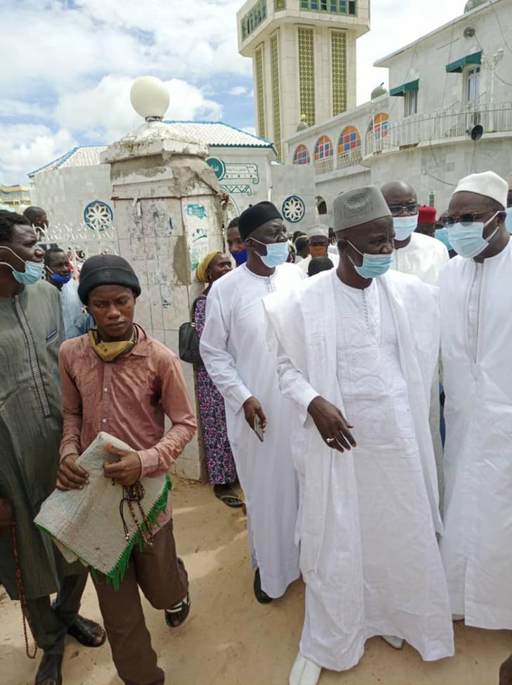 Khalifa Sall à Médina Baye pour représenter ses condoléances