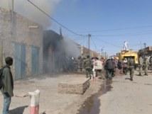 Incendie au parc Lambaye de Pikine, encore des millions partis en fumée