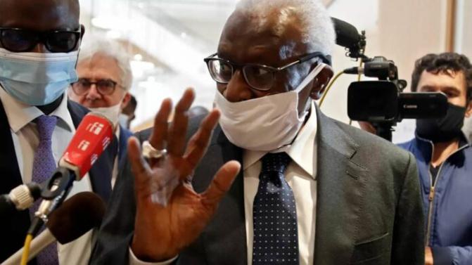 Verdict procès IAAF: Lamine Diack prend 4 ans de prison dont deux avec sursis, 500 mille d'euros d'amende