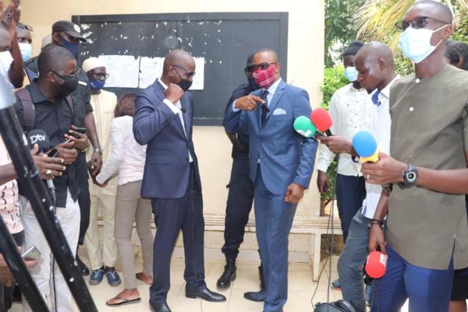 Me Moussa Diop à ses détracteurs: «Je n'ai pas leur temps, j'ai d'autres préoccupations»