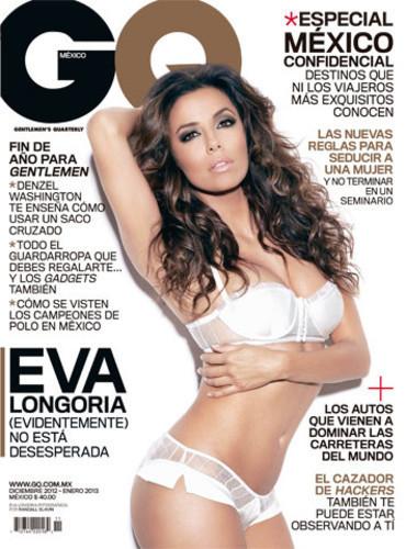 Eva Longoria : sexy et dénudée en couverture de GQ mexico