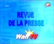 Revue de presse du lundi 03 Décembre 2012 (Walf Tv)