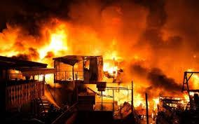 Incendie au marché Zinc de Pikine: Des dégâts matériels enregistrés