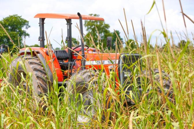 Macky Sall à Keur Socé - Visite des champs de 8.500 hectares (photos)