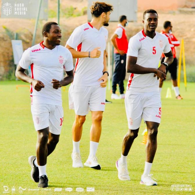 Malick Cissé et Bakary Mané
