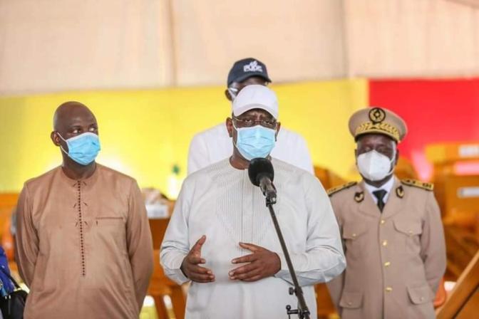 Le Chef de l'Etat a annoncé que 300 milliards de francs CFA seront mobilisés pour la seconde phase du PUDC