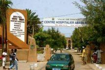 Sit-in des travailleurs de l'hôpital Abass Ndao