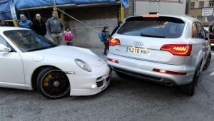 Real Madrid: Sortie de restaurant difficile pour les voitures Merengue !
