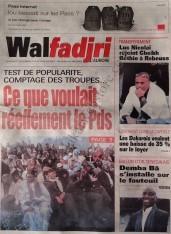 A la Une du Journal Walfadri du vendredi 07 Décembre 2012