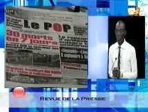 Revue de presse du vendredi 07 décembre 2012 [2STV]