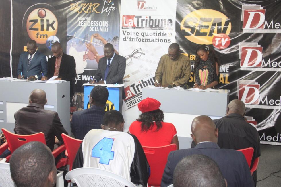 Rencontre annuelle de l'association nationale de la presse sportive pour désigner les meilleurs sportifs du Sénégal