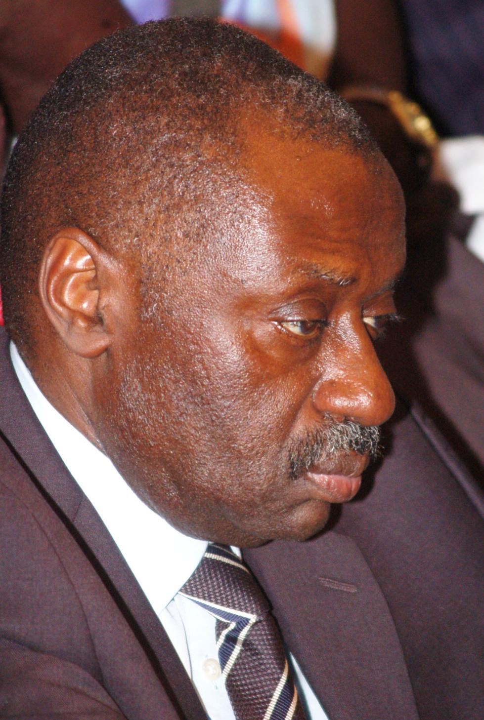Mbaye Ndiaye l'ex DG de l'ADS très pensif