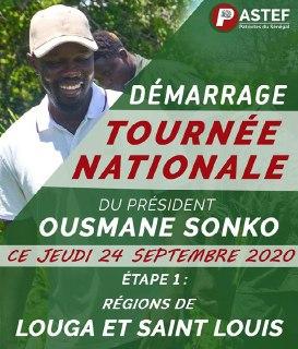 Ousmane Sonko en tournée « icône-nomique » : une première étape annoncée à Louga et Saint-Louis