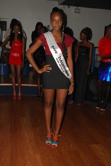 Yaye Arame N'diaye 1ère dauphine miss africité 2012