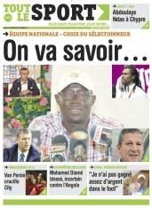 A la Une du Journal Tout Le Sport du lundi 10 Décembre 2012
