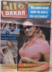 A la Une du Journal Allo Dakar du lundi 10 Décembre 2012