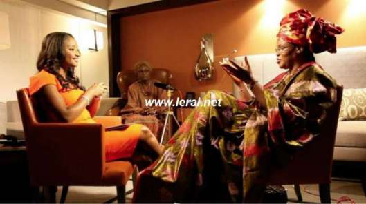 Quand la première Dame vante l'élégance sénégalaise à CNN