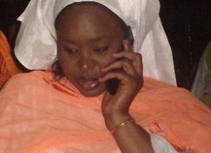Sokhna Assy Sy, fille de Serigne Mansour Sy, très affectée par le décès de son père