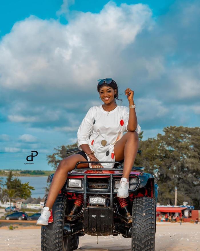 Mame Diarra de Sen Petit Gallé s'affiche toute élégante, lors de son dernier shooting (Photos)