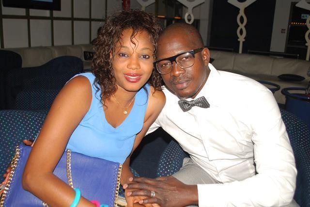 Samba Keinde et sa ravissante femme à la finale de miss africités 2012