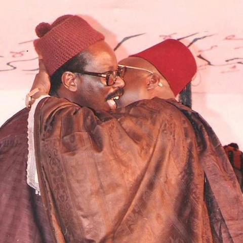 Serigne Mansour et Serigne Cheikh: L'accolade...