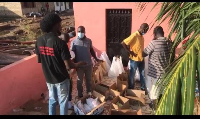 Social - La Team Bénévolat au secours des sinistrés de Keur Massar: d'importants lots offerts