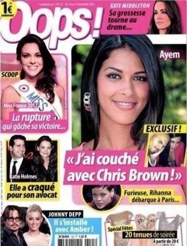 Ayem : a-t-elle vraiment couché avec Chris Brown ?