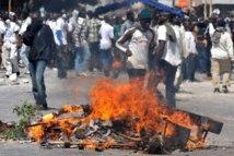 Guinaw Rail : Les populations protestent violemment pour exiger des passerelles sur l'autoroute à péage