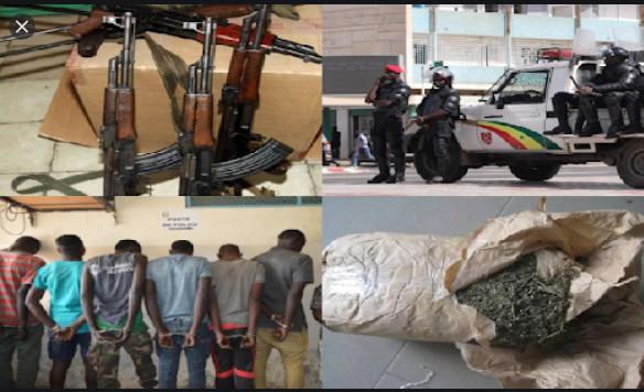 Insécurité et délinquance: La Police nationale expose les chiffres du  mois de septembre