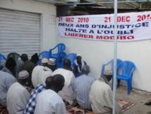 Colobane: Prières et  lectures de Coran pour  la libération de Modibo Diop (Photos)