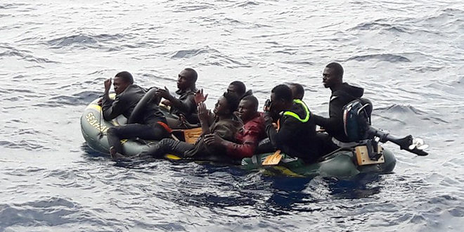 Naufrage en pirogue: 37 subsahariens, en majorité des Sénégalais, ont péri dans...