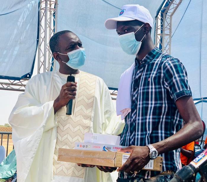 Doumga Ouro Alpha / Bokidiawé - Meilleurs bacheliers de l'année: Le Dg de l'ARTP fête l'excellence chez lui
