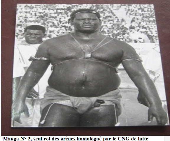 "Lambi demb - Hyacinthe Ndiaye ""Manga N°2"" (Écurie sérère): L'incontestable roi des arènes"