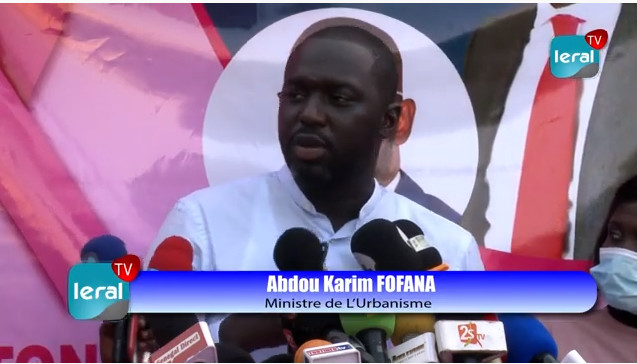 Abdou Karim Fofana, Ministre: