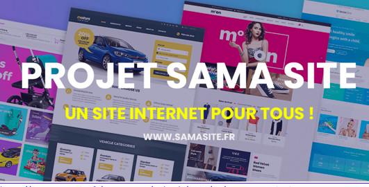 Le lancement du projet « Sama Site » pour les jeunes entrepreneurs et TPE/PME