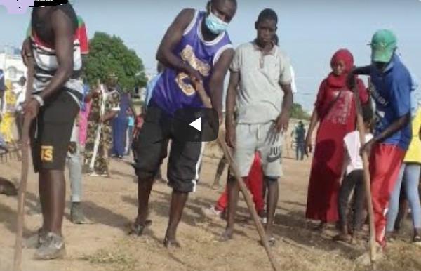 Préparatifs du Gamou au Champ de Courses: Les Moustarchidines entament leurs premiers coups de balai