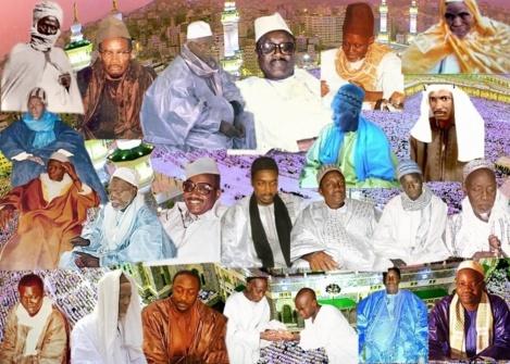 La famille de Mame Cheikh Mbaye de Louga