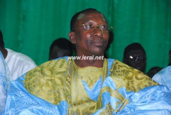 Abdoulaye Mbaye Pékh lors du forum du Magal