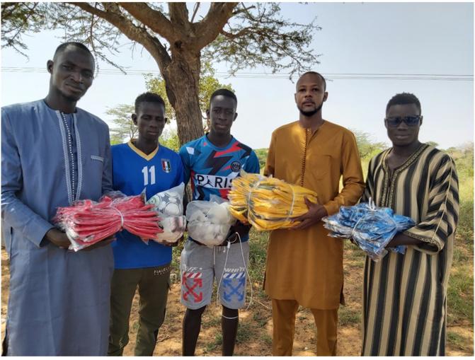 Relance économique : Ousmane Sakal DIENG offre plus de 2 millions aux femmes et aux jeunes de la commune de Sakal dans le département de Louga.