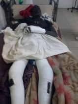 Khadim Gning, rescapé de l'accident de Khombole