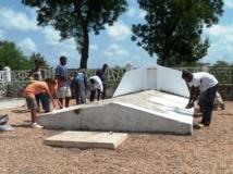 L'entretien de tombes de riches: une activité lucrative