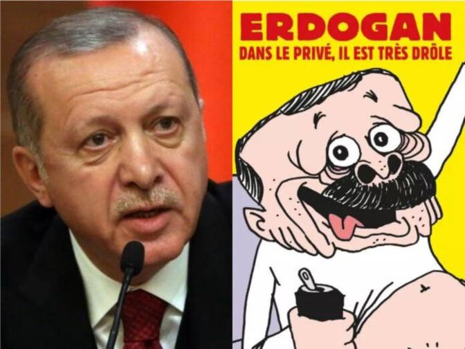 Caricature de Erdogan: la Turquie va répondre judiciairement et diplomatiquement
