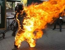 Cheikh Mbaye, l'homme qui s'est immolé devant le Palais a rendu l'âme